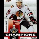 2015 Upper Deck Stanley Cup Champions Blackhawks  #15  Marcus Kruger