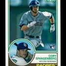 2015 Topps Baseball Archives  #208  Cory Spangenberg  RC
