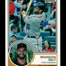 2015 Topps Baseball Archives  #239  Brandon Belt