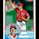 2015 Topps Baseball Archives  #269  Jordan Zimmerman
