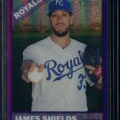 2015 Topps Heritage Baseball  Purple Refractor  #THC-460  James Shields