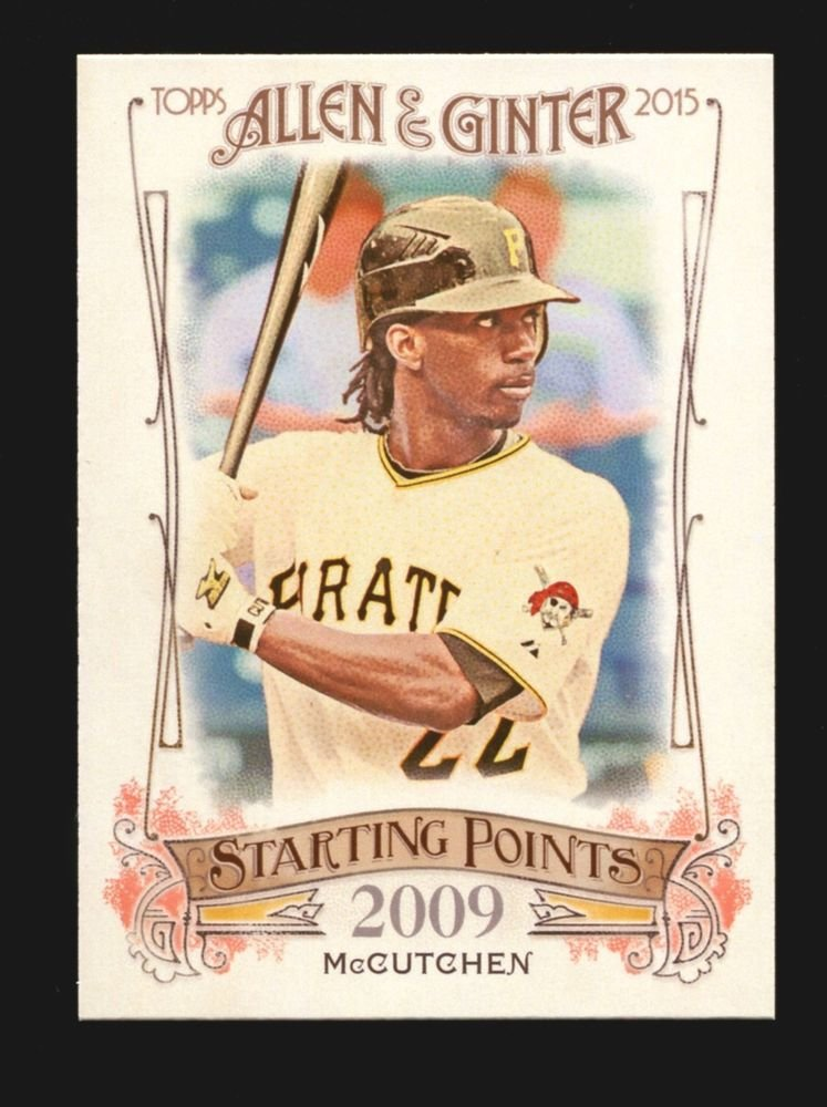 2015 Topps Allen & Ginter Starting Points  #SP-71  Andrew McCutchen