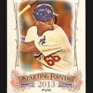 2015 Topps Allen & Ginter Starting Points  #SP-40  Yasiel Puig