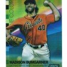 2015 Topps Baseball Stadium Club  True Colors  GOLD Refractor  Madison Bumgarner