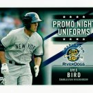 2015 Topps Baseball Pro Debut  Promo Night Uniforms Insert  #PN-GB  Greg Bird