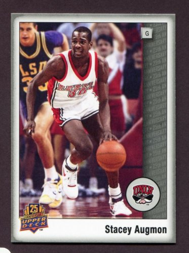 2014 Upper Deck 25th Anniversary Promo Packs  #72  Stacey Augmon