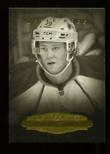 2014-15 Upper Deck Masterpieces  B&W Portraits  #162  Nathan MacKinnon