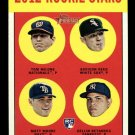 2012 Topps Heritage Baseball Rookie Stars #286  Milone  Reed  Moore  Betances