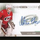 2014-15 Upper Deck SP Authentic Sign of the Times Autograph #SOT-AI  Arturs Irbe