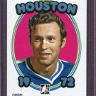 2008-09 ITG 1972 The Year in Hockey Blank Back Gord Labossiere Houston #106 /72