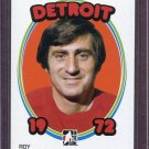 2008-09 ITG 1972 The Year in Hockey Blank Back Roy Edwards Detroit #42 /72