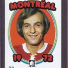 2008-09 ITG 1972 The Year in Hockey  Blank Back  Guy Lafleur #13  Montreal