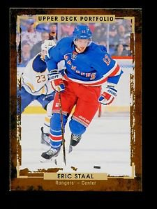 2015-16 Upper Deck Portfolio Hockey  Base  #139  Eric Staal
