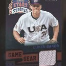 2015 Panini USA Baseball Stars & Stripes  Longevity Game Gear #67 Luken Baker