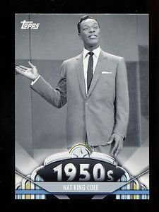 2011 Topps American Pie  #57  Nat King Cole
