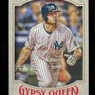 2016 Topps Gypsy Queen Baseball  Base  #112  Brett Gardner