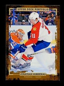 2015-16 Upper Deck Portfolio Hockey  Base  #20  Jonathan Huberdeau