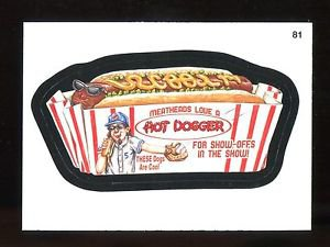 2016 Topps MLB Wacky Packages  #81  Hot Dogger