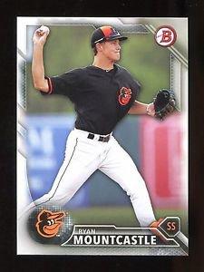 2016 Bowman Baseball  Prospect  #BP88  Ryan Mountcastle