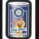 2016 Topps MLB Wacky Packages  #26  Mariners Sea Salt