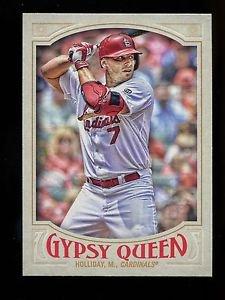 2016 Topps Gypsy Queen Baseball  Base  #174  Matt Holliday