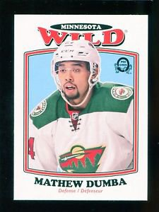 2016-17 OPC O-Pee-Chee Hockey  RETRO  #243  Mathew Dumba