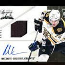 2012-13 Panini Rookie Anthology Luxury Suite Jsy Autograph #56 Max Sauve 30/99