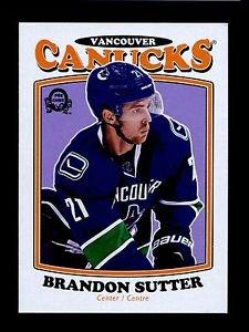 2016-17 OPC O-Pee-Chee Hockey  RETRO  #23  Brandon Sutter