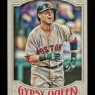 2016 Topps Gypsy Queen Baseball  Base  #149  Dustin Pedroia