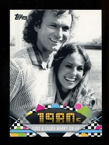 2011 Topps American Pie  #142  Luke & Laura Marry on GH