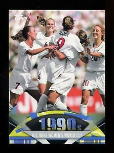 2011 Topps American Pie  #177  U.S. Wins Women's World Cup