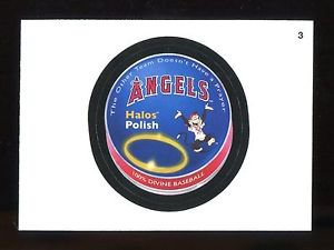 2016 Topps MLB Wacky Packages  #3  Angels Halo Polish