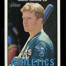 2016 Topps Heritage Baseball  Gum Stain Variation  #287  Mark Canha