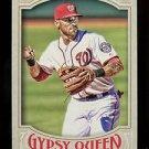 2016 Topps Gypsy Queen Baseball  Base  #254  Ian Desmond
