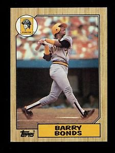 1987 Topps Baseball  #320  Barry Bonds