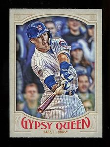 2016 Topps Gypsy Queen Baseball  Base  #257  Javier Baez