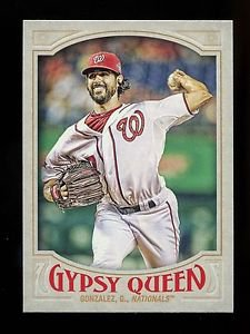 2016 Topps Gypsy Queen Baseball  Base  #42  Gio Gonzalez