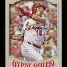 2016 Topps Gypsy Queen Baseball  Base  #57  Kolten Wong