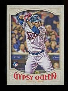2016 Topps Gypsy Queen Baseball  Base  #16  Miguel Sano