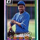 2015 Panini Donruss Baseball  1981 Press Proof  #233  Yordano Ventura  159/299
