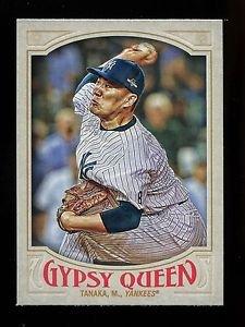 2016 Topps Gypsy Queen Baseball  Base  #156  Masahiro Tanaka