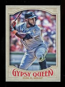 2016 Topps Gypsy Queen Baseball  Base  #299  Marcell Ozuna