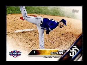 2016 Topps Opening Day Baseball  #OD-14  James Shields