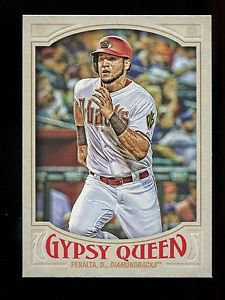 2016 Topps Gypsy Queen Baseball  Base  #49  David Peralta