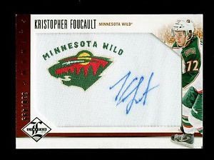 2012-13 Panini Limited Hockey Phenoms AUTOGRAPH #218 Kristopher Foucault 330/499