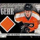 2012-13 Panini Hockey Titanium  Game-Worn Gear #GG-JV  James van Riemsdyk