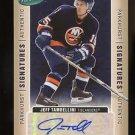 2005-06 Parkhurst Signatures Hockey  AUTOGRAPH  #JT  Jeff Tambellini