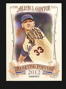 2015 Topps Allen & Ginter Starting Points  #SP-54  Matt Harvey