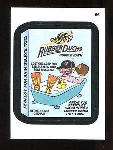 2016 Topps MLB Wacky Packages  #66  Akron Rubber Ducks Bubble Bath