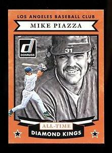 2015 Panini Donruss Baseball  All-Time Diamond Kings  #22  Mike Piazza